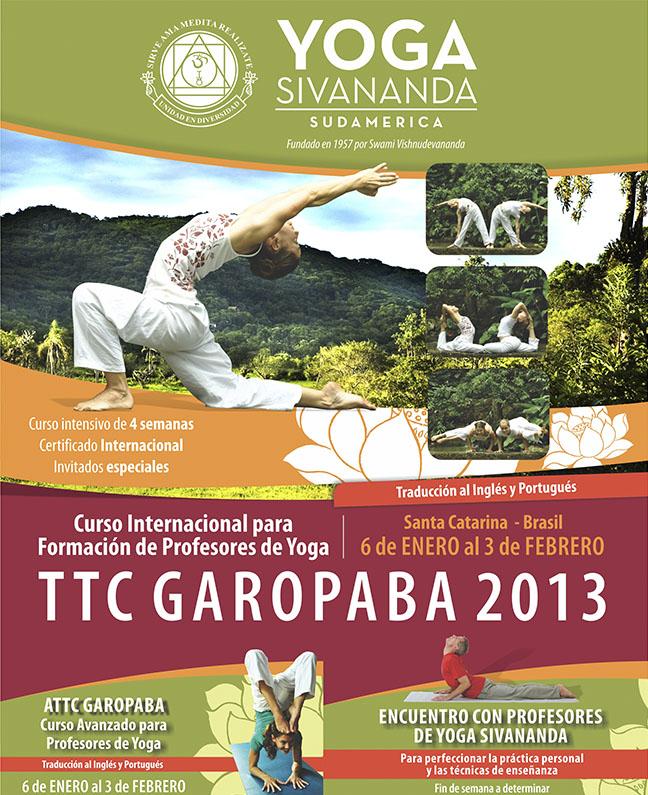 Yoga Sivananda - TTC Garopaba 2013 - Curso para formación de profesores b9040c78654a